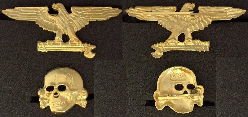 Ss Skull Cap Badge