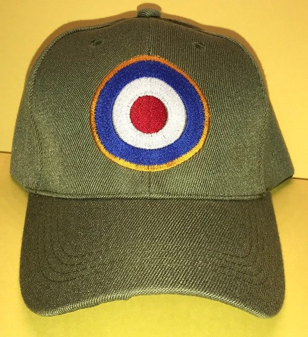 RAF WWII British Royal Air Force roundel ball cap